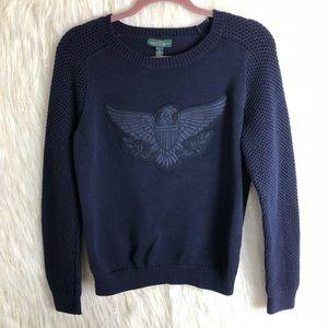 LRL Ralph Lauren logo sweater